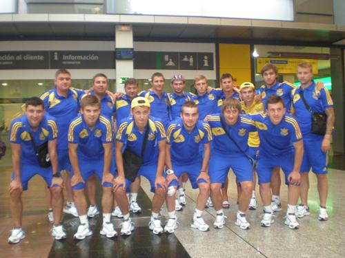Студенческая сборная Украины прибыла в Антекеру