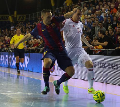 Кубок УЕФА: как и год назад, Локомотив позади Барселоны