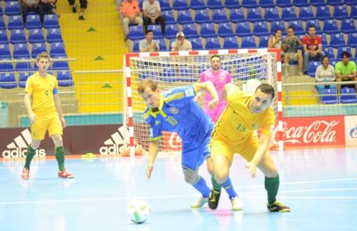 Футзал. Украина пробилась вплей-офф чемпионата мира