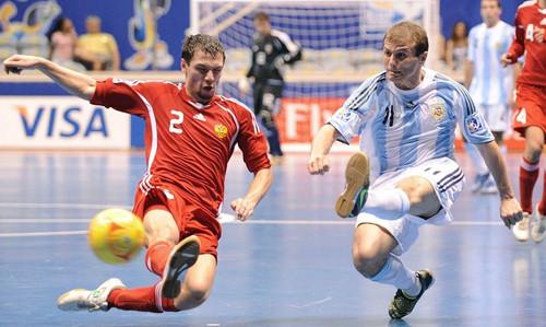 Русские мини-футболисты готовятся кфиналу чемпионата мира