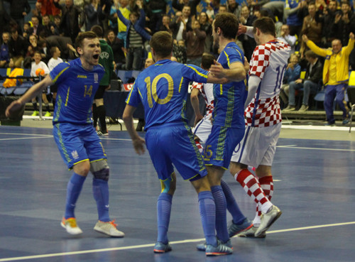 Сборная Украины по футзалу заняла первое место в группе и вышла в финальную часть Евро-2018 - Цензор.НЕТ 170