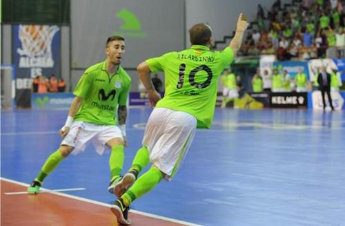 Испанский «Интер» одержал победу вКубке УЕФА помини-футболу, обыграв «Спортинг»