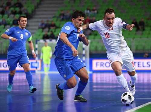 СборнойРФ помини-футболу удалось пробиться вплей-офф чемпионата Европы